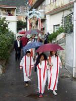 S.Sebastiano sotto la pioggia;processione  - Montagnareale (2267 clic)