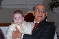Giorgio e il Nonno Riccardo il giorno del Battesimo.  - Montagnareale (2815 clic)