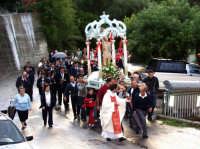 S.Sebastiano sotto la pioggia;processione.  - Montagnareale (2087 clic)