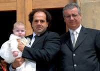 Giorgio Sidoti con il Papà e il Padrino Pippo Scandurra.  - Montagnareale (3162 clic)