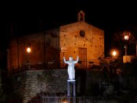 La Chiesetta di S.Sebastiano e la Statua del Cristo innaugurata il 22 Aprile del 2007. DSC_5885  - Montagnareale (2246 clic)