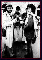 Distribuzione del giornalino. Nino Casamento,davide Spatola e Sabrina Crifò.  - Montagnareale (3955 clic)