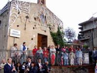 S.Sebastiano:Processione,la gente.  - Montagnareale (2525 clic)