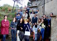 S.Sebastiano:Processione,la gente.  - Montagnareale (2440 clic)