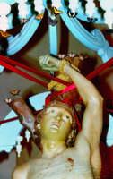 processione S.Sebastiano;part.Statua.  - Montagnareale (2918 clic)