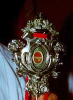 processione S.Sebastiano;La S.Reliquia.      - Montagnareale (3159 clic)