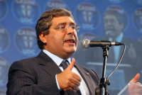 Il Presidente della regione Siciliana Cuffaro. DSC_2819 PALERMO Pippo Palmeri