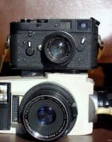 I miei gioielli: Leica M4 e Linhof 220.  - Montagnareale (5180 clic)