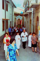 processione S.Sebastiano;Padre Nunzio Vasta.  - Montagnareale (3124 clic)