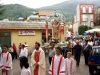 Processione di S.Sebastiano.  - Montagnareale (1956 clic)