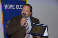 Centro sociale di S.Sebastiano il Sindaco di viene premiato Dal kiwanis Club di Montagnareale.  - Montagnareale (2448 clic)