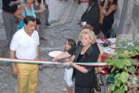 Taormina arte EXPO luglio 2007-giardino delle naumachie: Innaugurazione  - Taormina (2300 clic)