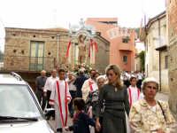 Processione di S.Sebastiano.  - Montagnareale (1954 clic)