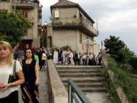 Processione di S.Sebastiano.  - Montagnareale (1992 clic)