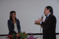 La giornalista Rula jebreal. DSC_2362  - Montagnareale (2347 clic)