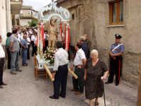 Processione di S.Sebastiano.  - Montagnareale (1971 clic)