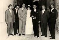 Vecchie foto:matrimonio Mario Spinella e Salvina Calabro'.0028.  - Sorrentini di patti (2901 clic)