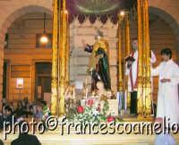 Processione per le vie principali della Vara di S. Pietro Padrono di Riposto.(2oo5)  - Riposto (4804 clic)