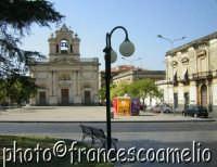 Veduta di piazza S. Francesco e piazza Carmine.(2oo5)  - Giarre (3311 clic)