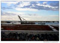Lavori ampliamento porto.  - Riposto (2040 clic)