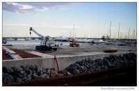 Lavori ampliamento porto.  - Riposto (2021 clic)