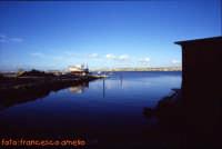 Veduta dall'isola di Mozia in attesa della barca. (2004)  - Mozia (2304 clic)