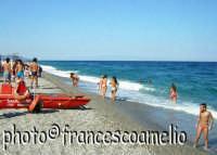 Spiaggia e mare di Fondachello.(2oo5)  - Fondachello di mascali (7730 clic)