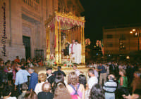 Processione e festeggiamenti in onore di S. Pietro Patrono di Riposto giorno di celebrazione 29 giugno. (2oo6)  - Riposto (7161 clic)