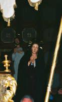 Processione del Venerdì Santo (2005) - L'Addolorata e S. Giovanni Apostolo  - Zafferana etnea (2834 clic)