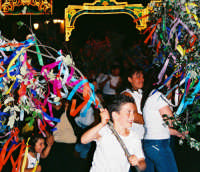 Festa della Madonna del Rosario (09.07.2005) - Gruppi in festa.  - Fleri (5443 clic)