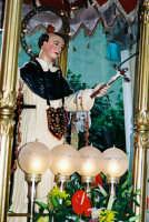 Festa di S. Vincenzo Ferreri (04.07.2005) - Il simulacro del Santo Patrono.  - Sarro (5237 clic)