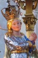 Festa dell'Immacolata (01.11.2005) - Un primo piano dell'artistico simulacro della Madonna.  - Milo (6574 clic)