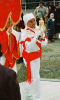Festa di S. Sebastiano Martire, compatrono (30.01.2005) - L'arrivo della Confraternita di S. Sebastiano di Avola.  - Santa venerina (3278 clic)