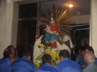Festa della Madonna del Rosario (11.09.05) - Il rientro del simulacro della Madonna dopo la processione.  - Pedalino (3988 clic)