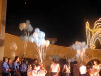 Festa della Madonna del Rosario (11.09.05) - Il lancio dei palloncini colorati.  - Pedalino (5445 clic)