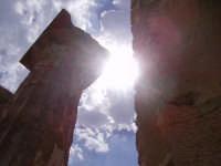 particolare di un tempio. Colonna Dorica  - Selinunte (3106 clic)