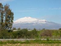 Vista dell'Etna dal villaggio Sferro  - Sferro (4634 clic)