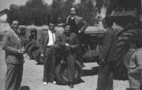 Sferro, '68, mostra trattori  - Sferro (7135 clic)