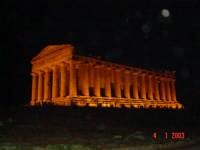 Tempio della COncordia di Notte  - Agrigento (11108 clic)