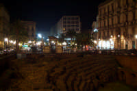 piazza Stesicoro vista del teatro antico  - Catania (2425 clic)