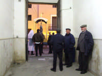 Sicilia,Feudo di Maria. in attesa per la processione di Maria SS.Immacolata. ENNA Alessandro La Vign
