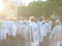 2Luglio,festa della patrona Maria SS.della Visitazione la singolare coreografia dei portatori in pro