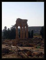 Soggetto: Tempio di Castore e Polluce Fotocamera: Nikon Coolpix 2100 Software: Adobe Photoshop CS2 Luogo: Agrigento Data: 21 Agosto 2oo5 Ore: 17:28  - Agrigento (2831 clic)