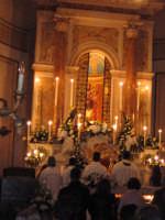 LA TANTO ATTESA E COMMOVENTE APERTURA DELLA CAPPELLA DI MARIA SS. DEL LUME, LA PATRONA DI LINERA (13.11.2005).  - Linera (4293 clic)