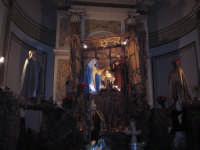 NATALE 2005. Presepe allestito sull'Altare Maggiore della Chiesa Madre.    - Linera (5645 clic)
