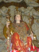 Simulacro di Santa Lucia sull'altare maggiore.  - Belpasso (3085 clic)