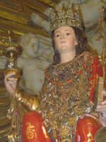 Simulacro di Santa Lucia sull'altare maggiore.  - Belpasso (4963 clic)
