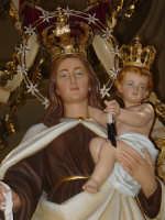 Simulacro processionale della Madonna del Carmine, venerato nella chiesa del Carmine di Giarre. ( Processione il 16 Luglio )  - Giarre (2190 clic)
