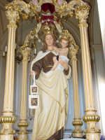 Simulacro processionale della Madonna del Carmine, venerato nella chiesa del Carmine di Giarre. ( Processione il 16 Luglio )  - Giarre (2290 clic)