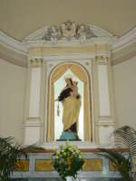 Artistico simulacro della Madonna del Carmine, venerato nella chiesa del Carmine di Giarre.   - Giarre (2231 clic)